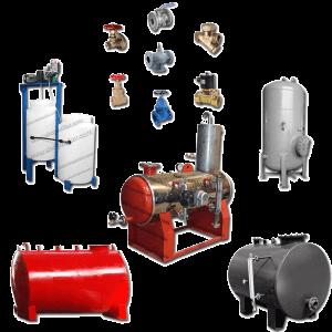 تجهیزات موتورخانه دیگ بخار